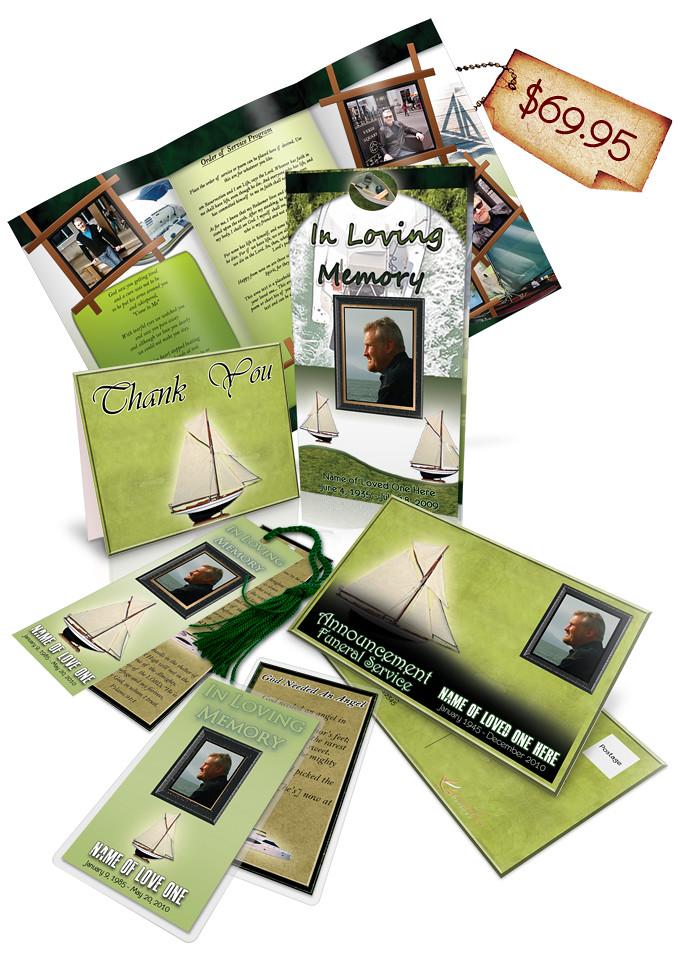 Free Obituary Layout Design