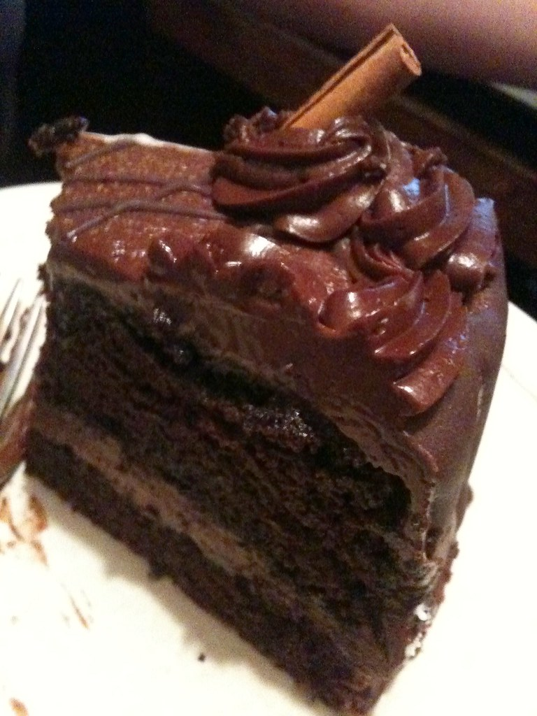 Vegan Mexican Chocolate Cake @ Red Bamboo | For vegan it's ...