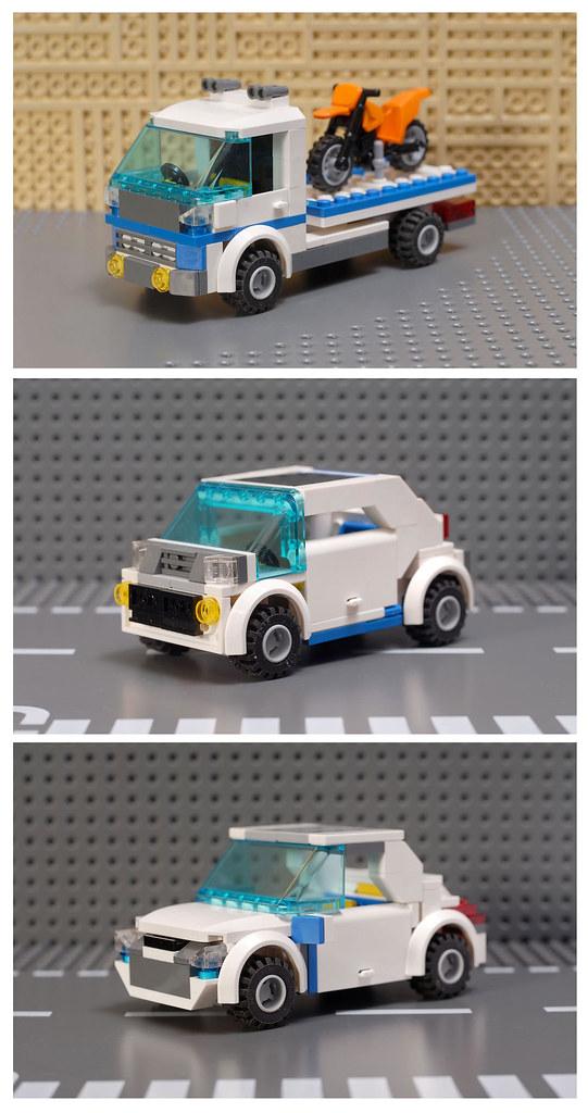 Lego Police Car Instructions 7286 Carsite