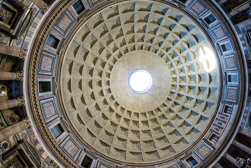 Pantheon From The Floor - 1 | by baldheretic