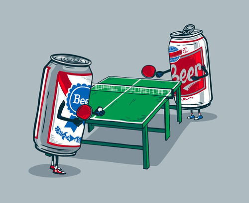 Beer Pong | by Ben Douglass