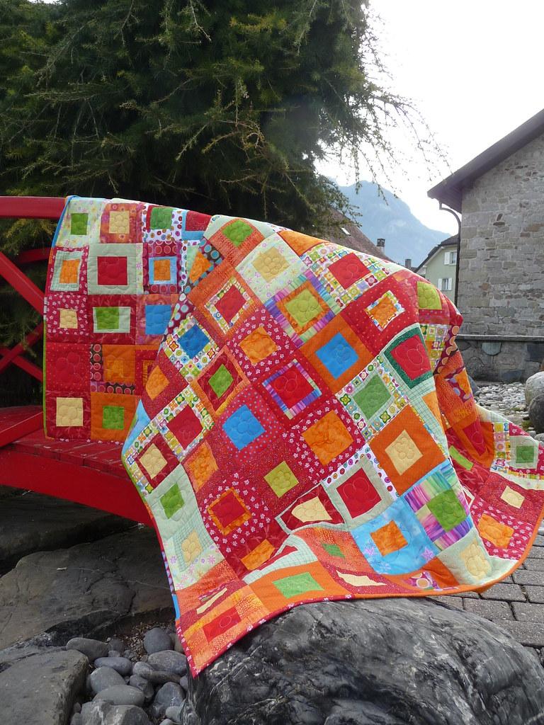 Le jardin de marie en situation 3 quilt fait pour ma pet flickr - Le petit jardin quilt pattern calais ...
