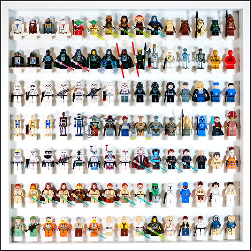 Lego Star Wars Minifig display No. 03 | by Artamir78