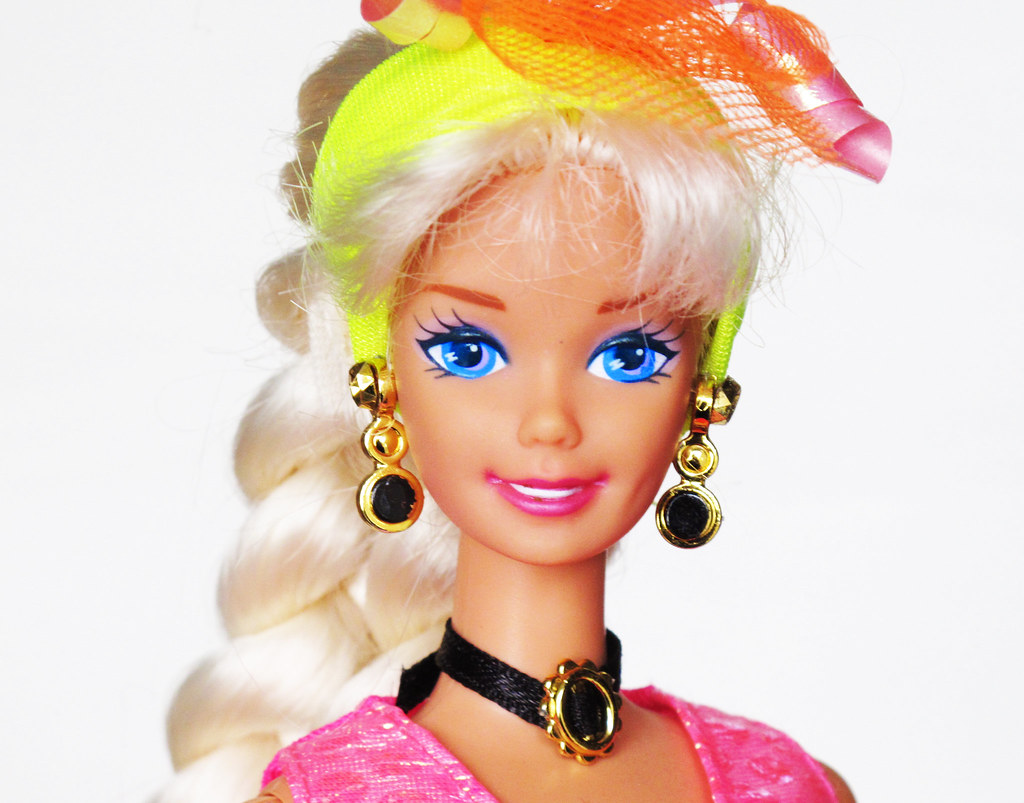 Cut N Style Barbie 1994 Barbiedoll Peanut Flickr