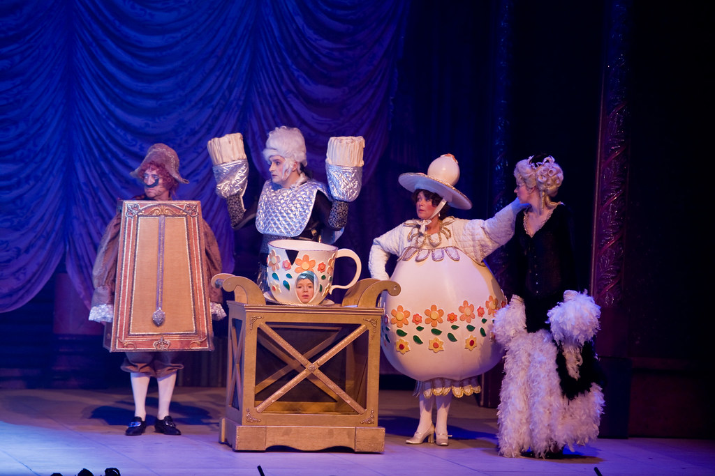 Cogsworth Lumiere Chip Mrs Potts And Babette