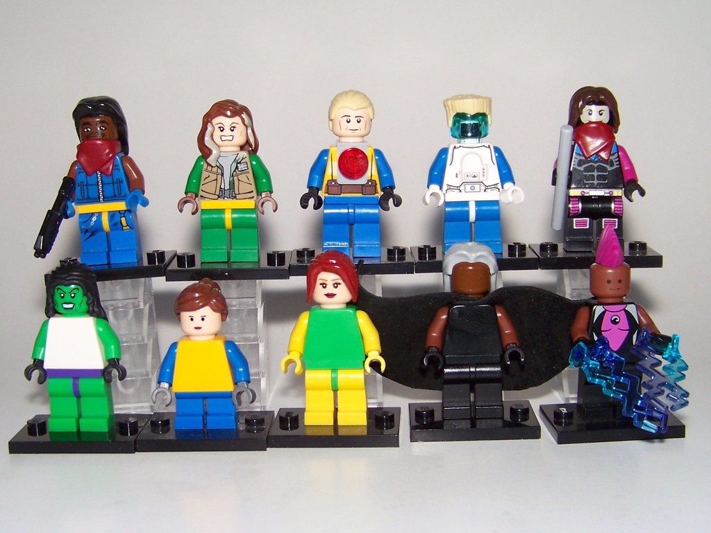 6 Malvorlagen Lego Superheroes: LEGO - SuperHeroes / Marvel - Figures 1 (MOC)