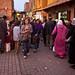 Street scene in Marrakesh
