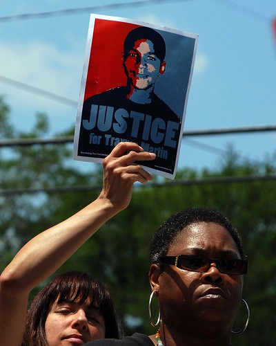 Trayvon Martin Rally Sit-In - Sanford | by werthmedia