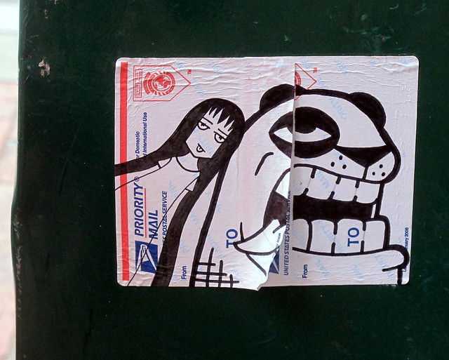 Priority Mail Sticker Graffiti Philly Sticker Art | F...