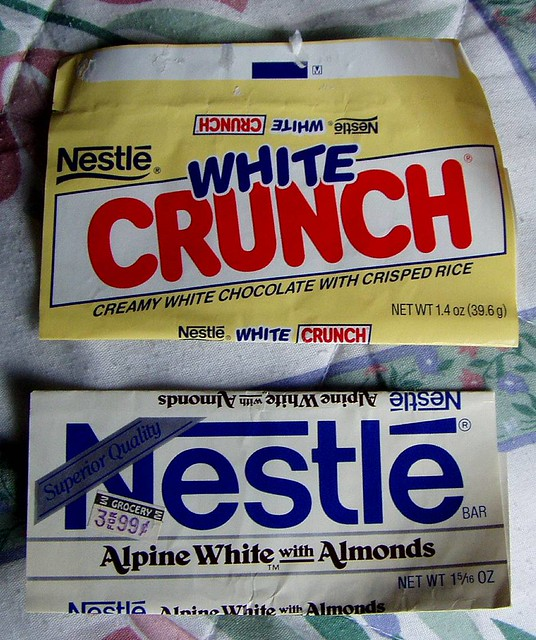 Nestle Crunch White Nestle white ch...