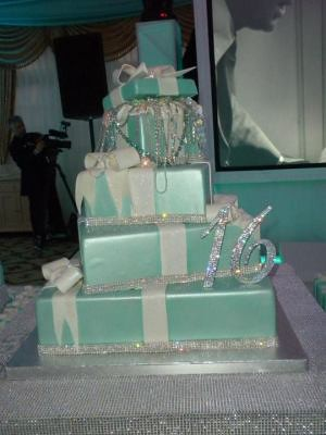 Tiffany And Co Cake Images