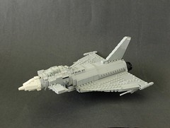 Eurofighter Typhoon Main by Lego Junkie.