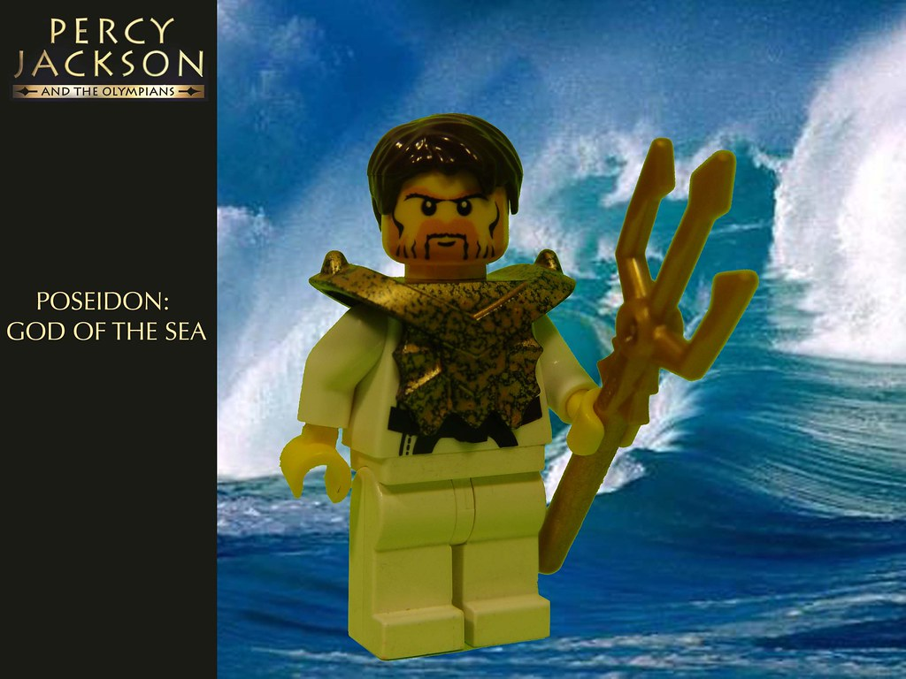 Percy Jackson: Poseidon | My version of the Greek god ...