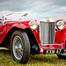 An old MG. (1949 MG TC Midget 1250cc)