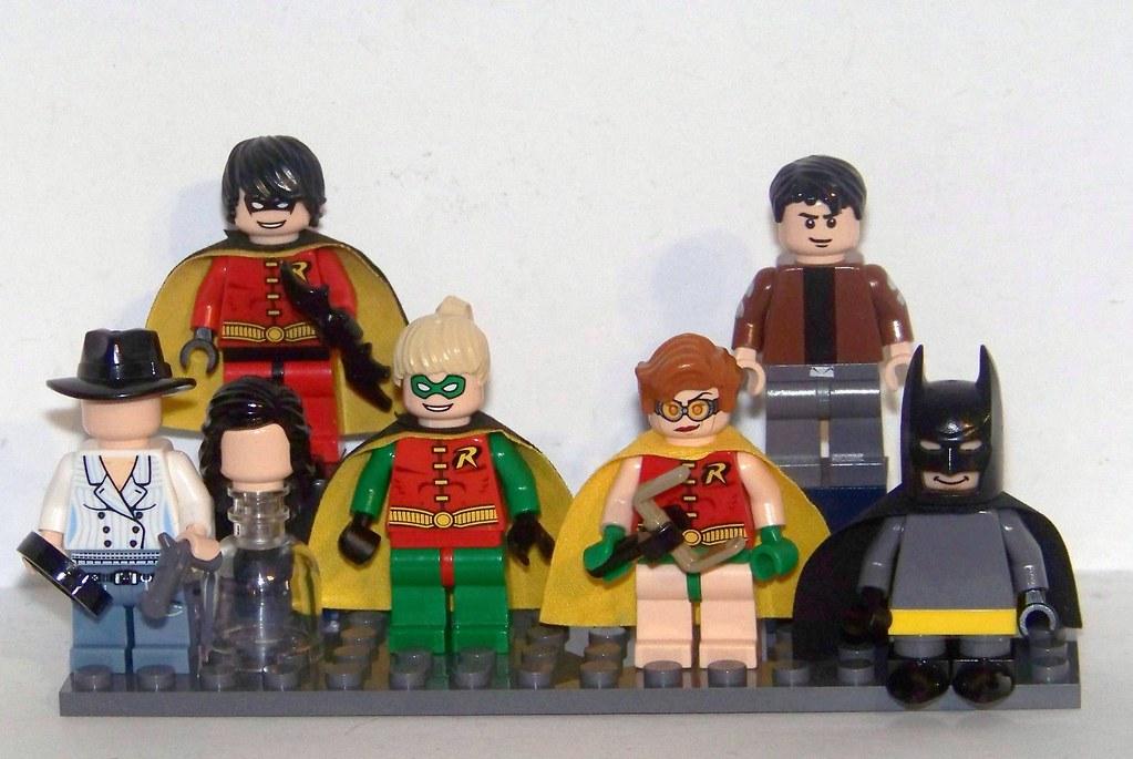 LEGO MOC Additional Batman Allies WIP Top Row Tim