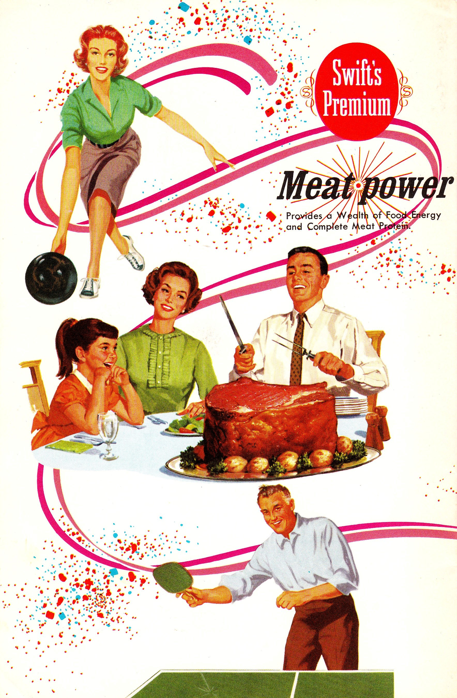 Swift and Company - 'Party Plans for Food and Games' - 1966 - Author: Martha Logan