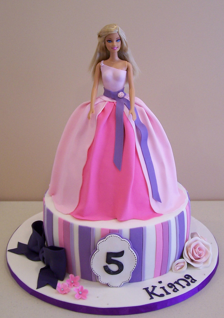 Cake Design Barbie : Barbie Cake This weekend was a Barbie weekend! I made ...