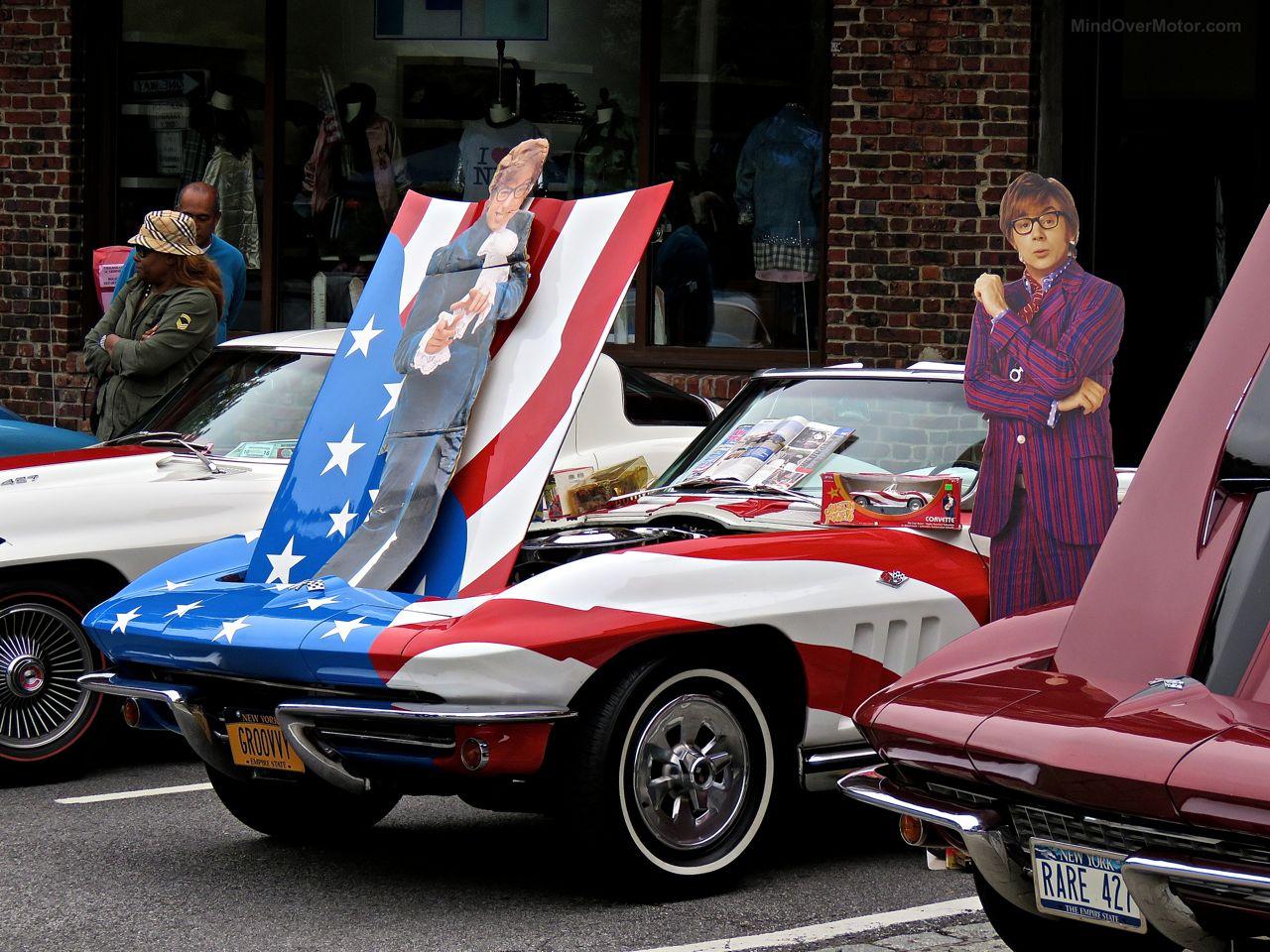 Austin Powers Corvette Scarsdale Concours
