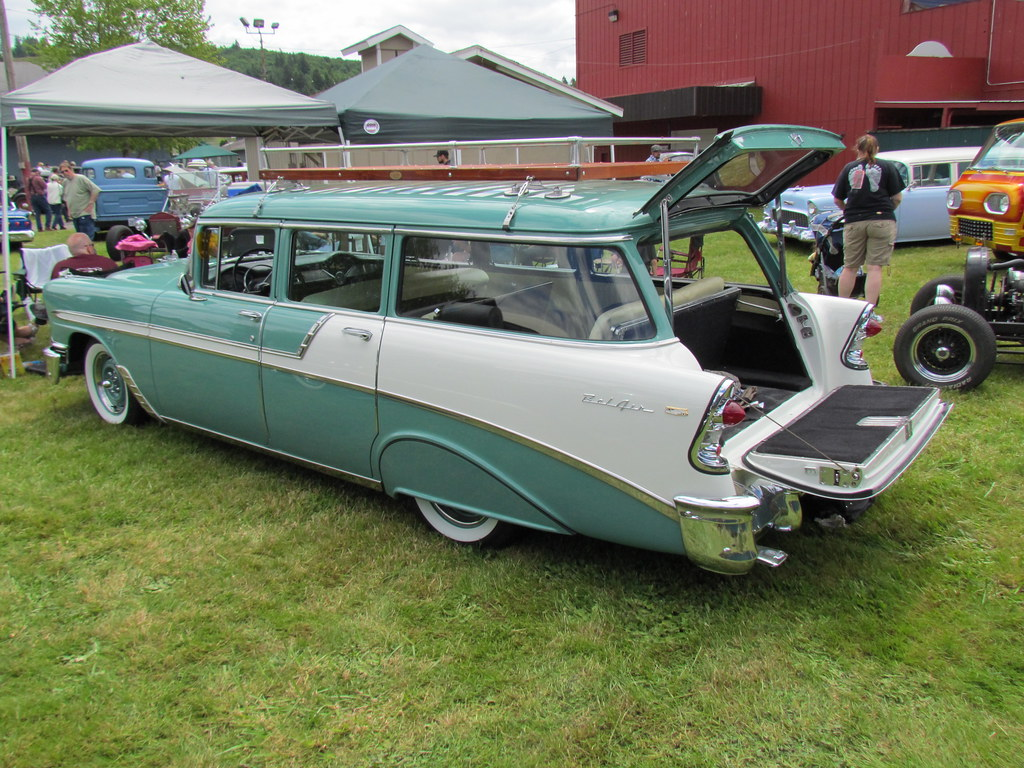 1956 Chev Beauville 9 Passenger Wagon Easily One Of The