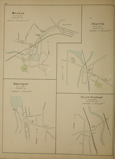 Page 288 of Town and city atlas of the State of Connecticut. / Compiled from government surveys, county records and personal investigations | by uconnlibrariesmagic