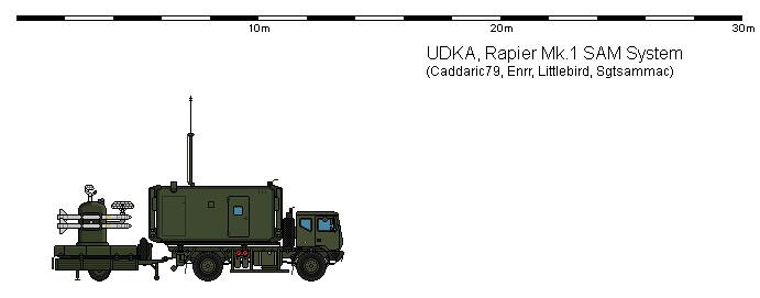 Rapier Mk 1 Sam Anti Air System The Mk 1 Rapier System