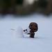 Sackboy & his snowman