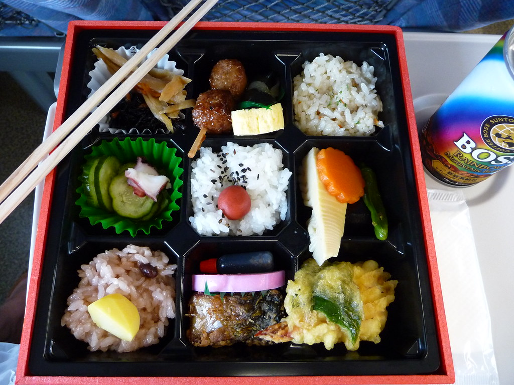 train lunch you can buy your bento box in the station for flickr. Black Bedroom Furniture Sets. Home Design Ideas