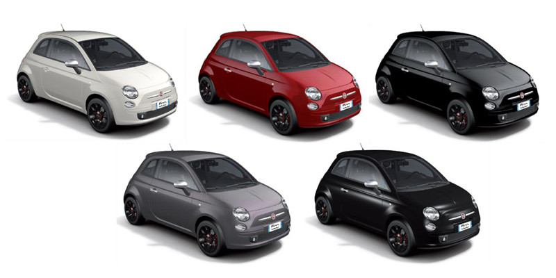 Fiat 500 Colori... D And D Motors