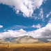 'Marching Clouds', Italy, Umbria, Castelluccio, Piano Grande Pass