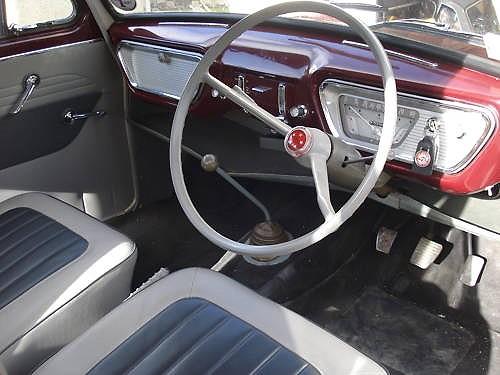 Ford Anglia 105e Very Original Interior Of A 1960 Anglia