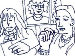 "Maureen, Dolores & ""Me"": 2010.12.06 by Julia L. Kay"