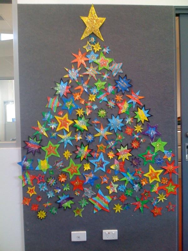 Grade 1 39 S Christmas Tree Made Of Stars Royalfern Flickr