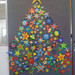 Grade 1's Christmas tree made of stars