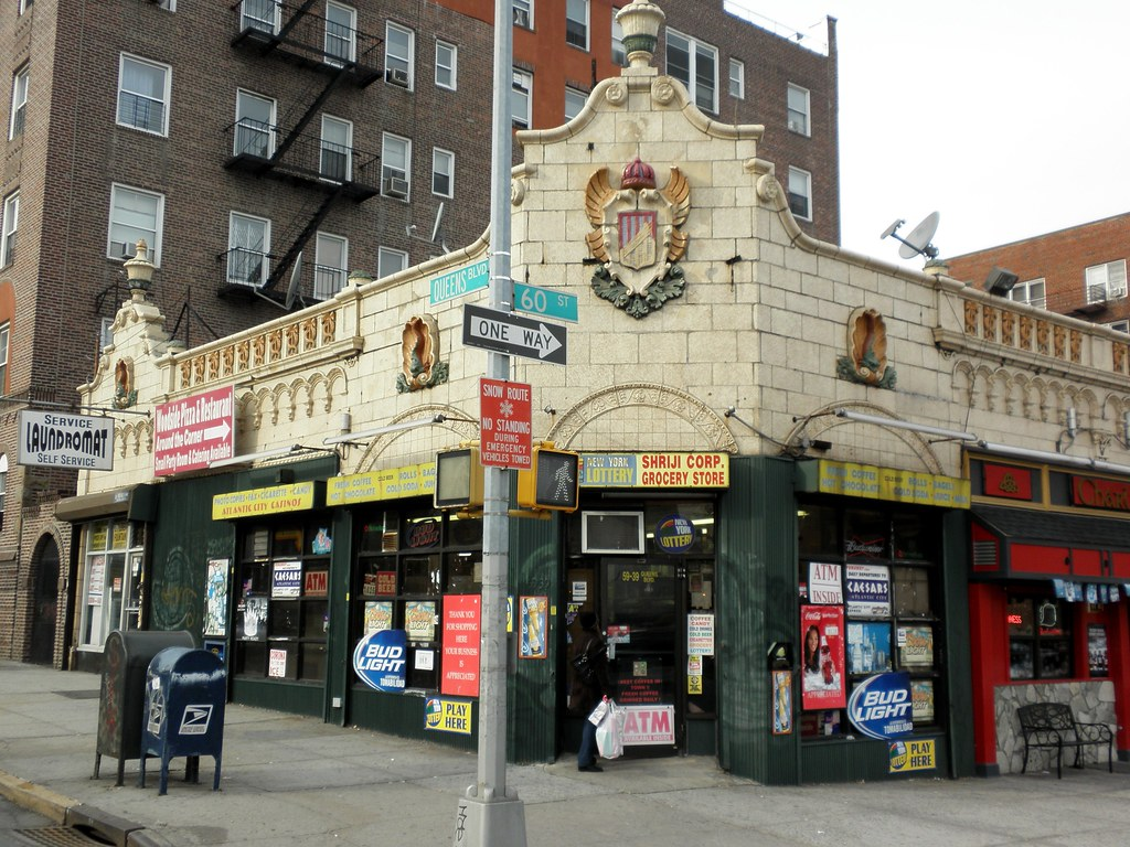 Woodside grocery store queens new york city queens for Store fenetre new york