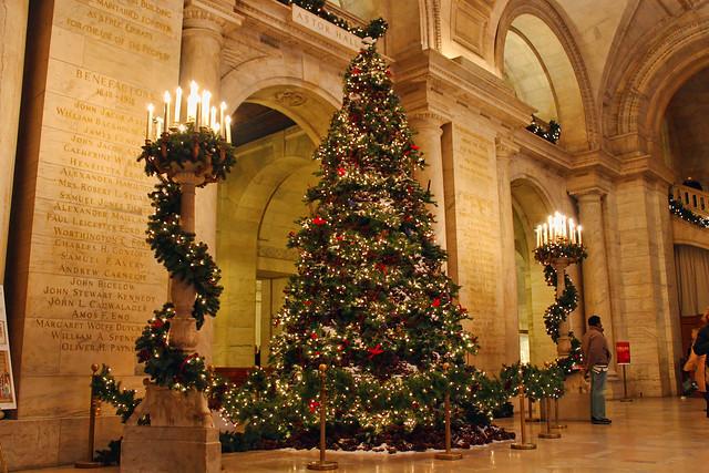 New York Public Library Christmas Tree Flickr Photo