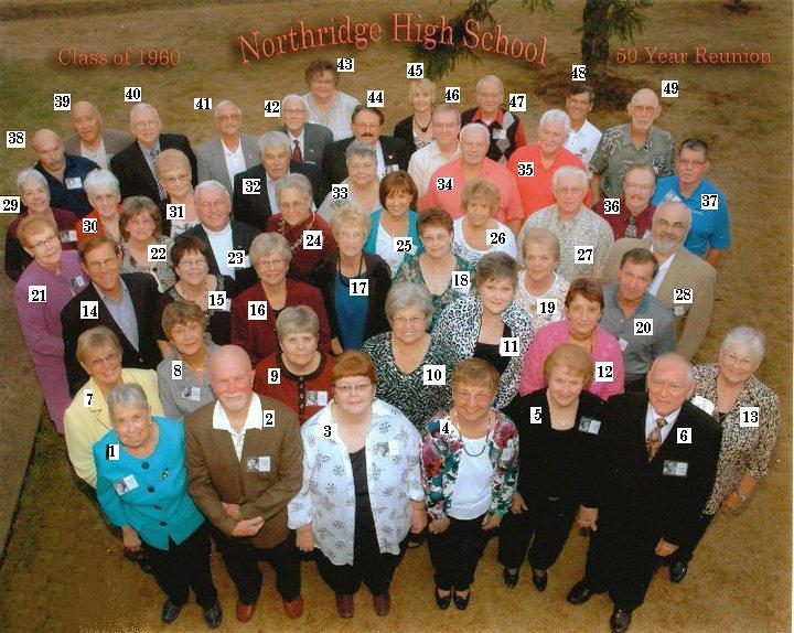 Class Of 1960 50 Reunion September 11 2010 Ramada Inn