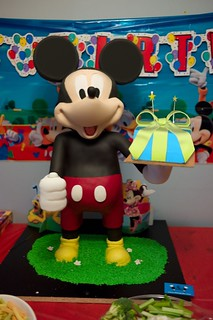 2 1/2 feet 3D Mickey Mouse Cake | by It's My Cake, Inc.