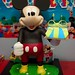 2 1/2 feet 3D Mickey Mouse Cake