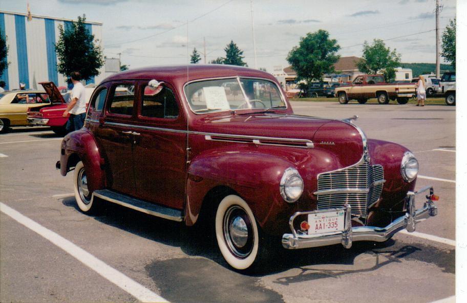 1940 dodge 4 door sedan this 1940 dodge sedan is seen at for 1940 dodge 2 door sedan