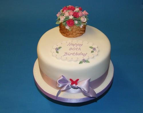 Mums 90th Birthday Cake Ideas And Designs