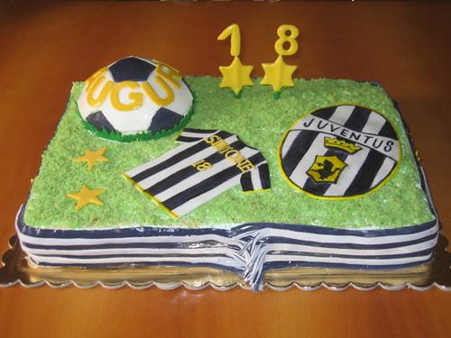 Le torte di anna gloria torta juventus per i 18 anni di for Torte 18 anni ragazzo
