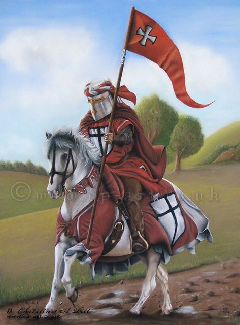 Medieval Knight Pastel Painting | Flickr - Photo Sharing!