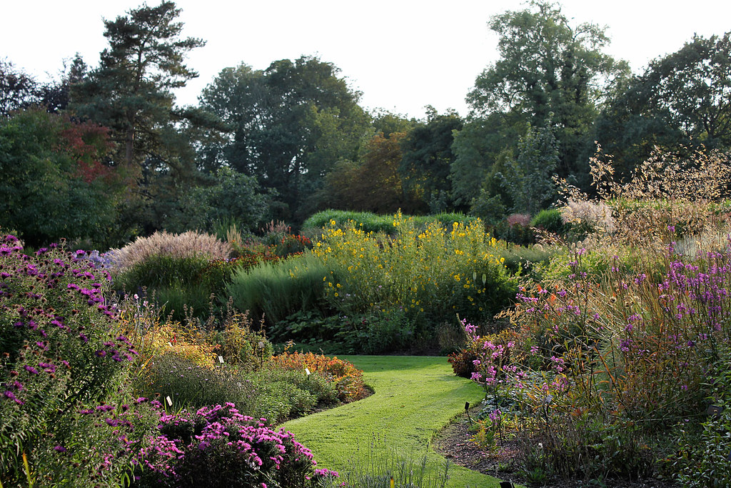 The Summer Garden At Bressingham Throughout The 12 Acre