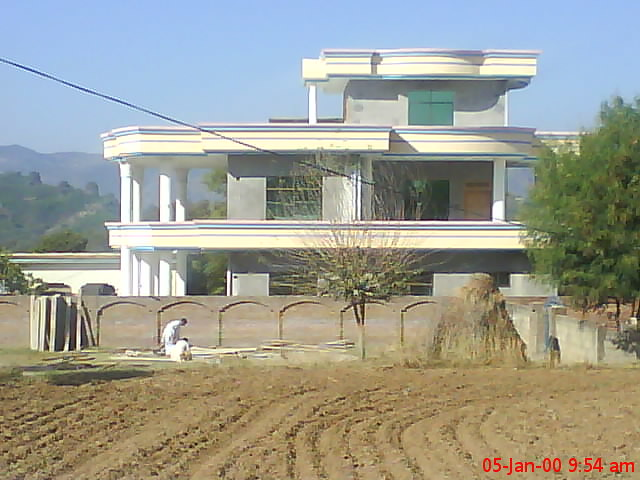 Raja aziz ahmad khan house nakota ajk umarfarooq kayani for Home designs kashmir