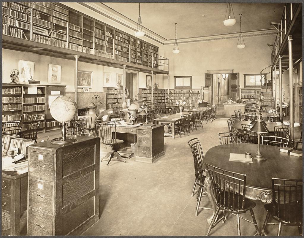 BPL Copley study room - room2learn