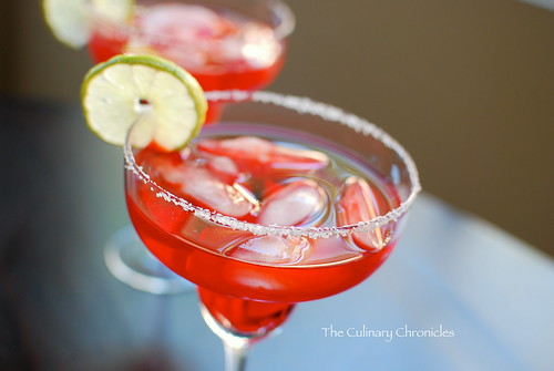 Pomegranate Margaritas | by The Culinary Chronicles