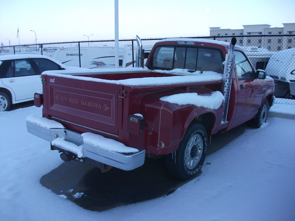 Li L Red Express Dodge Dakota Made From 1990 1992 The