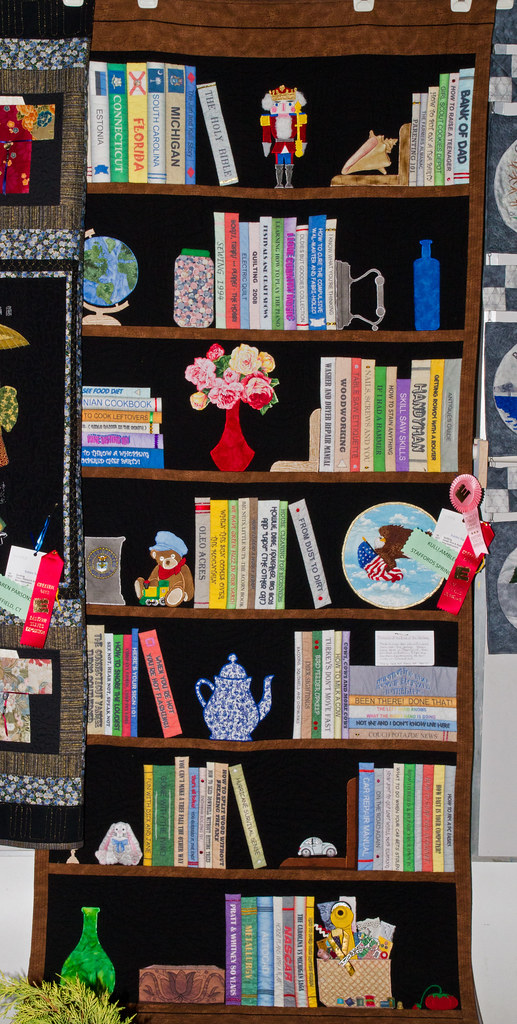 Bookcase Quilt Img 8938 1 This Quilt Won Peoples Choice