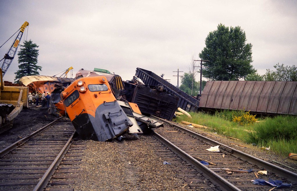 Weighty Matters: The Heart and Stroke Foundation Needs ...  |Rail Road Train Wreck