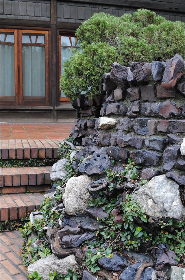 Pictures Of Clinker Brick And Lava Rock Houses: Clinker Brick & Creeping Fig